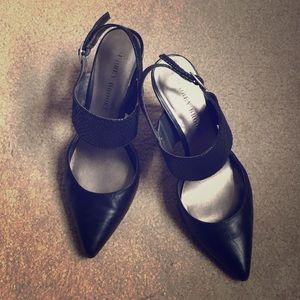 "3"" black heels"